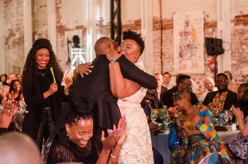 Art Auction Ubuntu Pathways Gala Dinner 2018 © Mia Mokgofe 2018 16