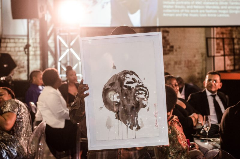 Art Auction Ubuntu Pathways Gala Dinner 2018 © Mia Mokgofe 2018 21