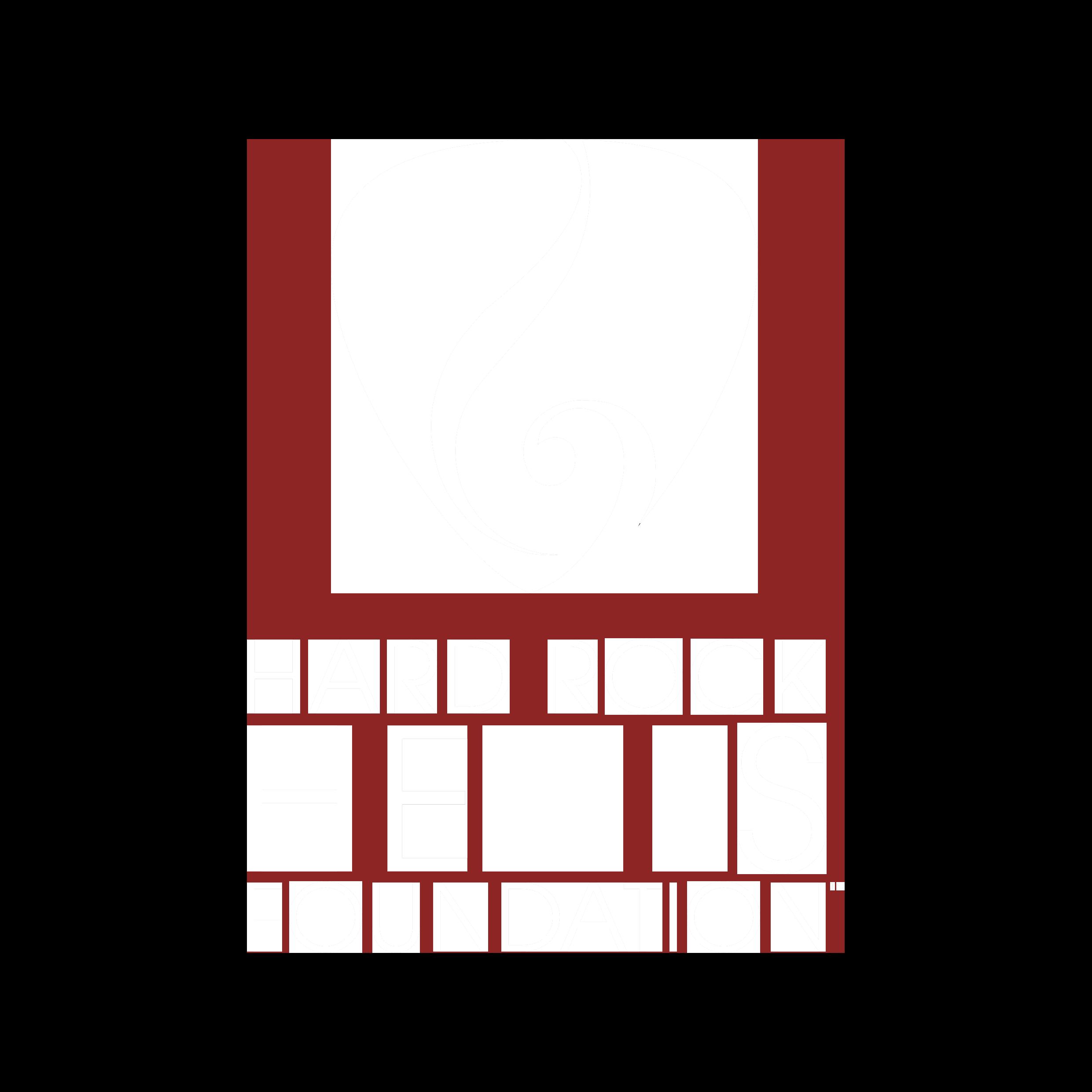 Hard Rock Heals Logo White