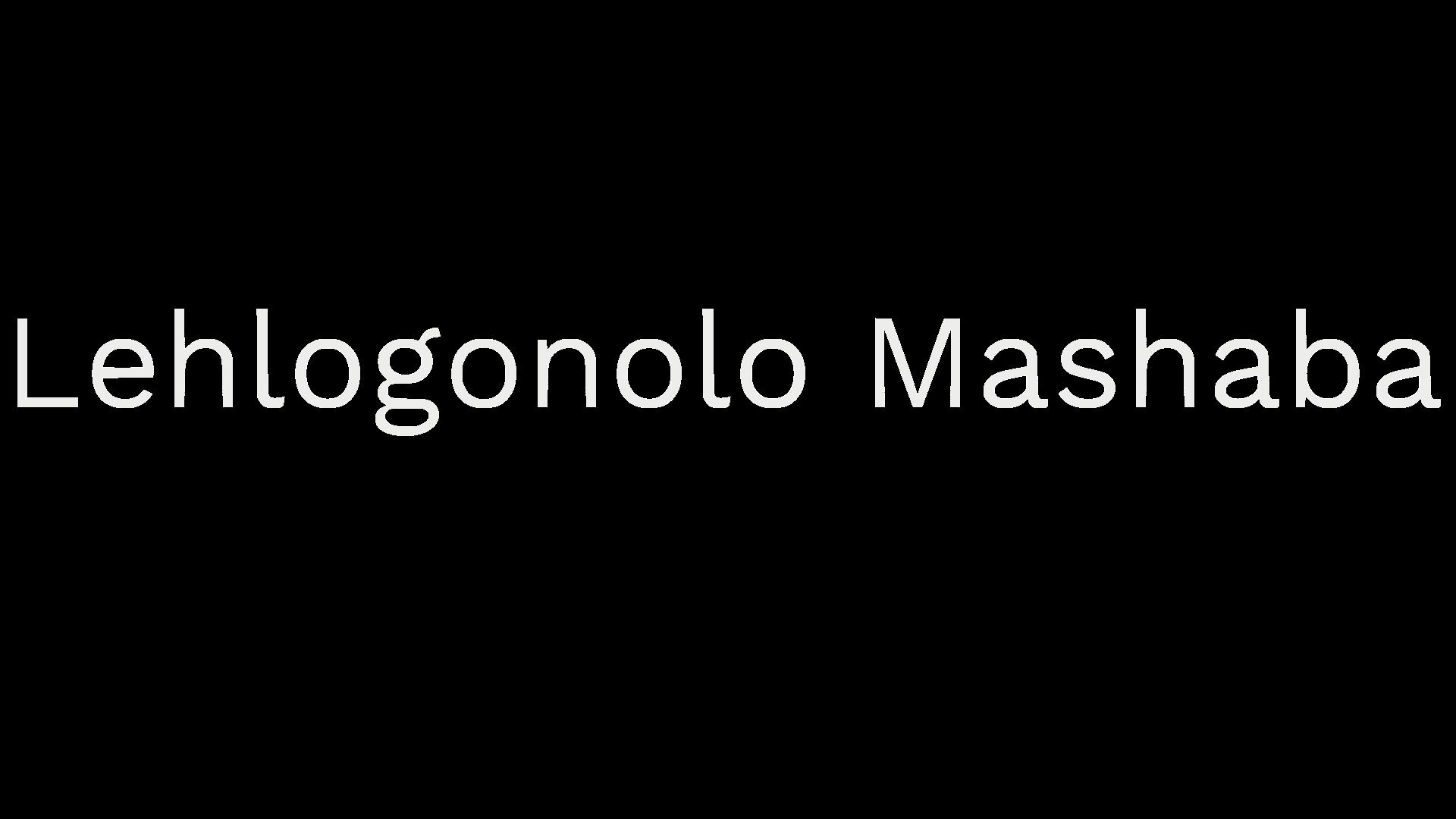 Lehlogonolo Mashaba 2